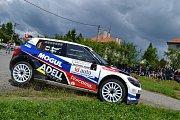 22. ročník Rallysprint Kopná. Roman Kresta - Petr Slaný.