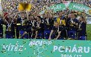 Zlín vyhrál v Olomouci český pohár