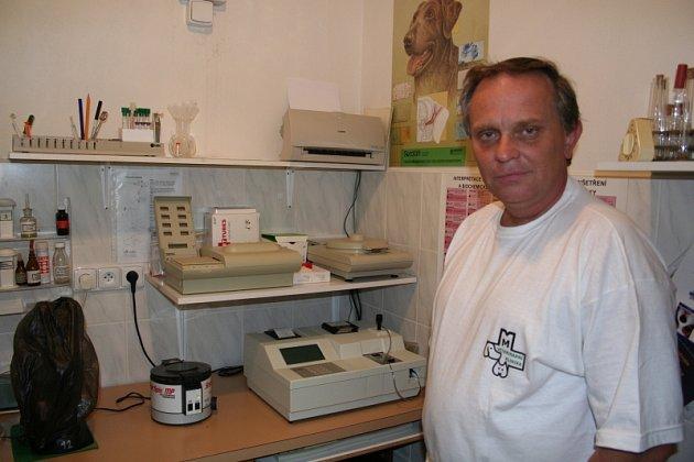 Zlínský veterinář Skalička.