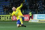 Sedmadvacetiletý útočník Antonín Fantiš dvěma brankami rozhodl sobotní zápas s Opavou.