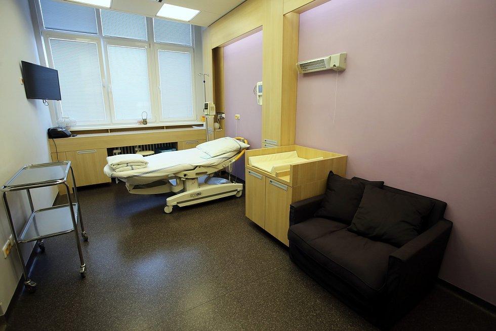 Gynekologico- porodnické oddělení Krajské nemocnice T. Baťi ve Zlíně.Porodní box 7 (nadstandart)