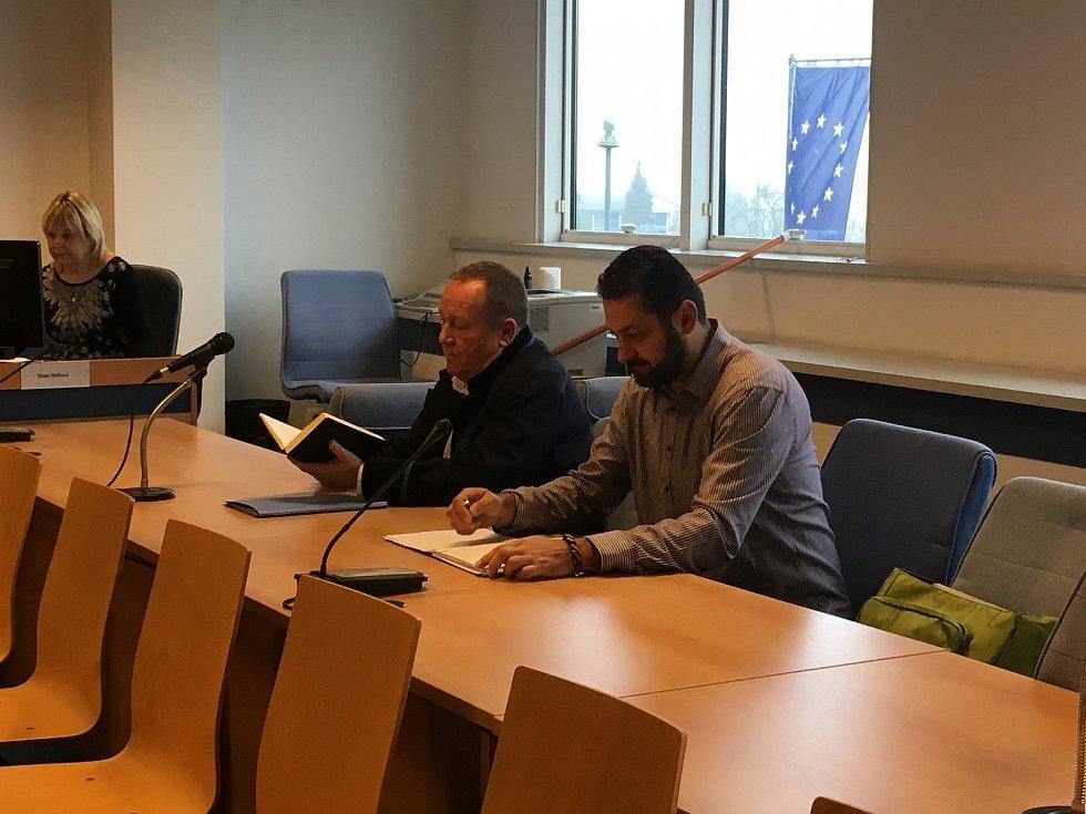 Roman Čechmánek u zlínského krajského soudu - 9. listopadu 2020