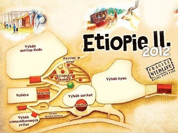 Expozice Zoo Zlín - Etiopie II.