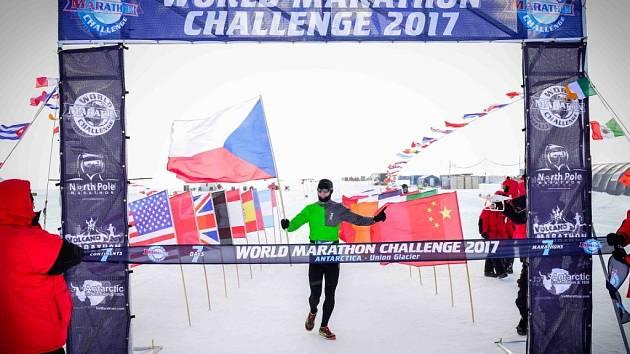 Petra Vabrouška z Wold Marathon Challenge  2017