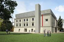 Vizualizace rekonstrukce zlínského zámku