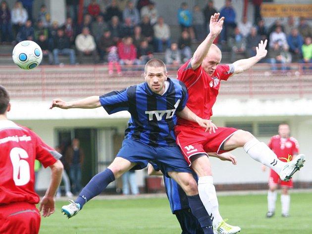 Fotbal Brumov. Ilustrační foto
