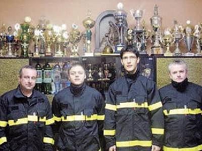 Vrbětický sbor dobrovolných hasičů sbírá široko daleko nejvíce úspěchů v požárním sportu.