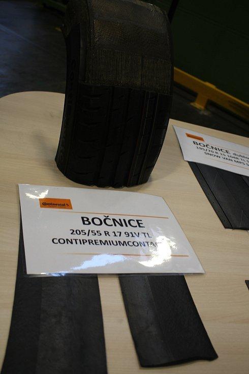 Den otevřených dveří v Continental Barum - Bočnice. Chrání plášť v boční části proti mechanickému poškození a povětrnostním vlivům.