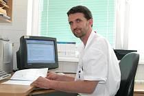 MUDr. Martin Molitor, primář plastické chirurgie Krajské nemocnice Tomáše Bati ve Zlíně.