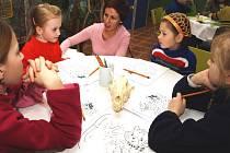 Vzdělávací akce pro děti ve zlínské zoo.