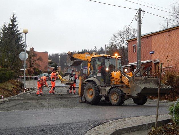 Oprava ulice Mostní ve Zlíně - současný stav