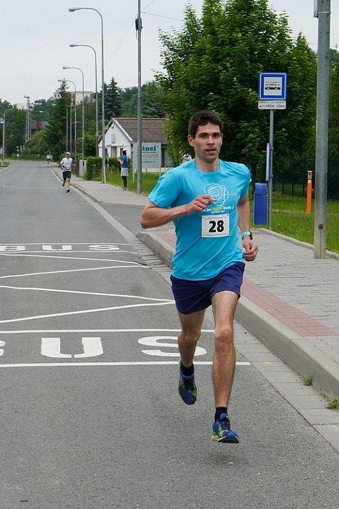 Běh na 2 míle ve Zlíně, červen 2021