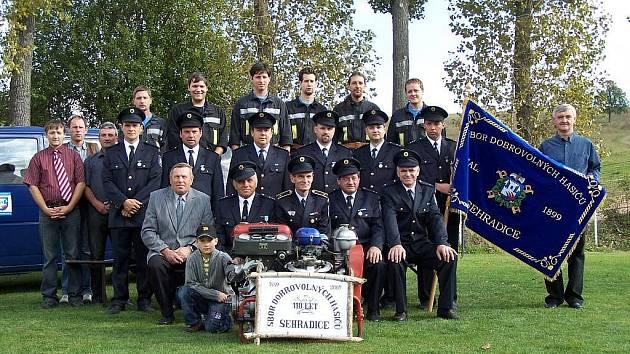 Sdružení dobrovolných hasičů v Sehradicích.
