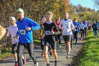 Běh na 2 míle, listopad 2017