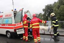 Poslední velké cvičení hasičů v tomto roce