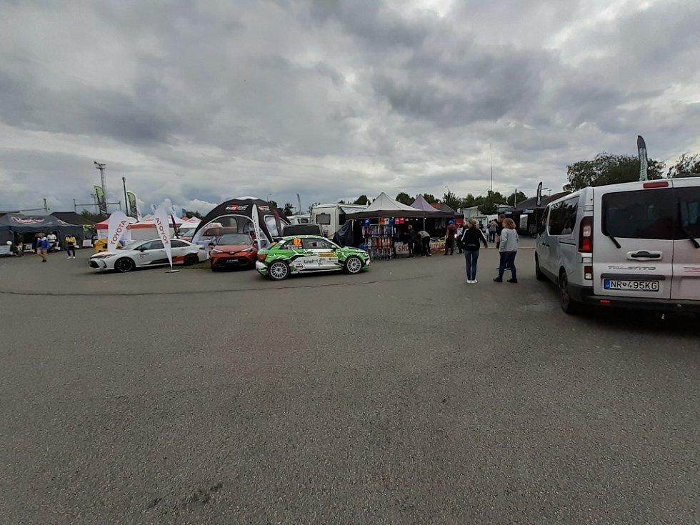 Servisní zóna Barum Rally