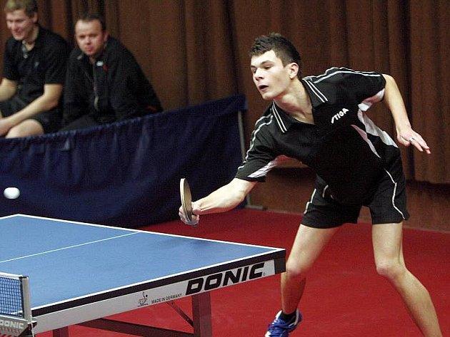 Stolní tenisté KST Zlín. Na snímku Arnoš Topič.