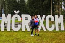 Vojtěch Neradil na mistrovství republiky v maratonu horských kol v Harrachově 2021