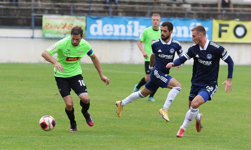 Fotbalisté Zlína se po dlouhých šestnácti letech vrátili do Drnovic.