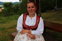 Eva Vangorová je vedoucí Valašského dětského souboru Dokopyjánek.