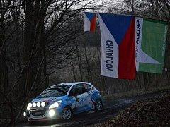 Snímek z jedné z rallye, které se letos účastní Jaroslav Maniš z Chvalčova u Bystřice pod Hostýnem už po dvaadvacáté.