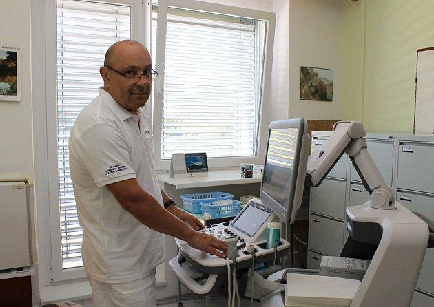 Primář neurologického oddělení Krajské nemocnice T. Bati ve Zlíně Jan Bartoník