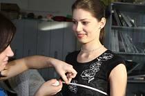 Třídenní soustředění finalistek Miss Academia 2009.