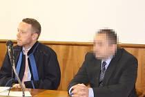 Obžalovaný Martin P. u kroměřížského okresního soudu