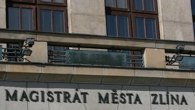 Radnice ve Zlíně.