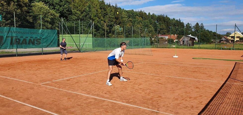 Tenisová liga ve Slavičíně