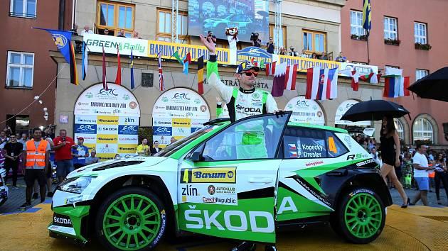 Barum Czech Rally Zlín 2019  cíl - Jan Kopecký