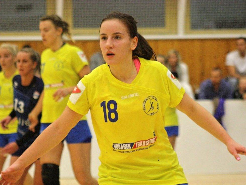Zlínská spojka Michaela Kolářová musela skousnout porážku ve Veselí nad Moravou