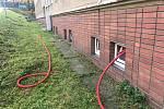 Nové odběrové místo ve Zlíně napadl zloděj. Odřezal přívodní kabel.