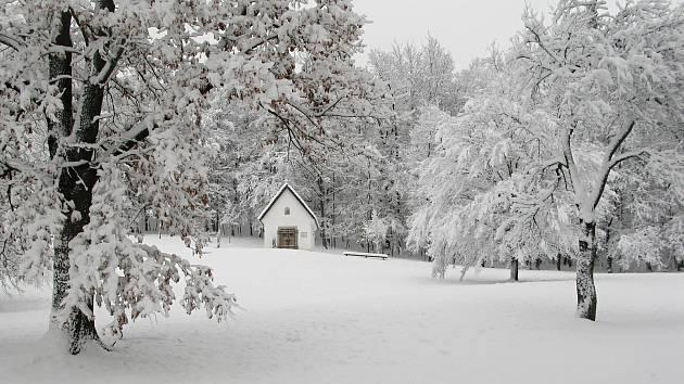 Zima v Rožnově pod Radhoštěm 29.12. 2017