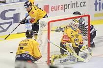 Zlínští hokejisté. Ilustrační foto