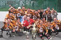 Tygři získali prvenství zaslouženě, protože vyhráli základní část ligy v Malenovicích a byli úspěšní také v následném play off.