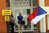 Doplňovací volby do Senátu pro okrsek č. 78 ve Zlíně.Volební okrsek č.  21 ZŠ Emila Zátopka