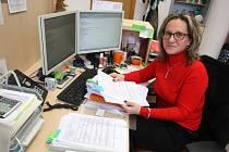 Hana Ponížilová ze studijního oddělení Fakulty multimediálních komunikací UTB ve Zlíně.