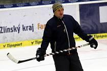 Příprava hokejistů PSG Zlín. Martin Hamrlík