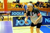 Stolně tenisový veterán Jaroslav Kučera