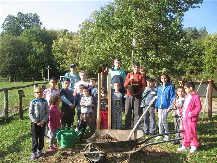 Děti se vydaly do Vysokého Pole na podzimní výlet.