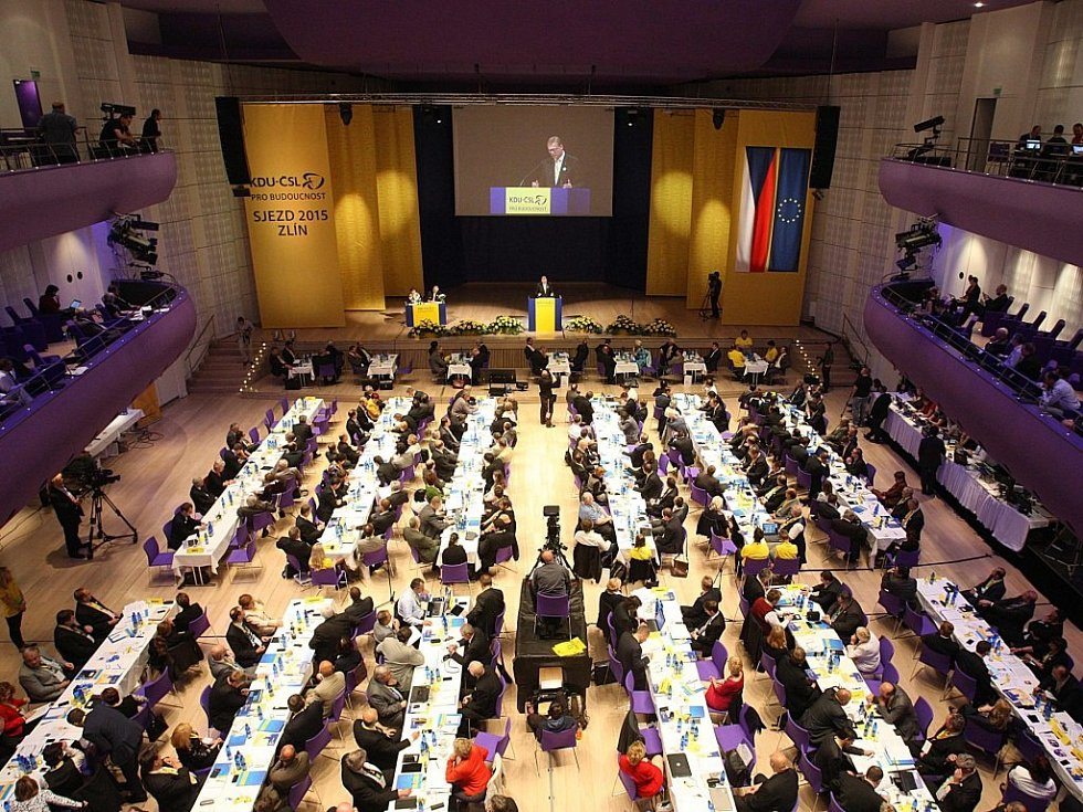 Celostátní sjezd KDU-ČSL 2015 ve Zlíně