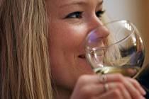 Košt vína v Machové