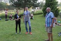 Ondřej Velička na mistrovství republiky v ultratrailu 2020