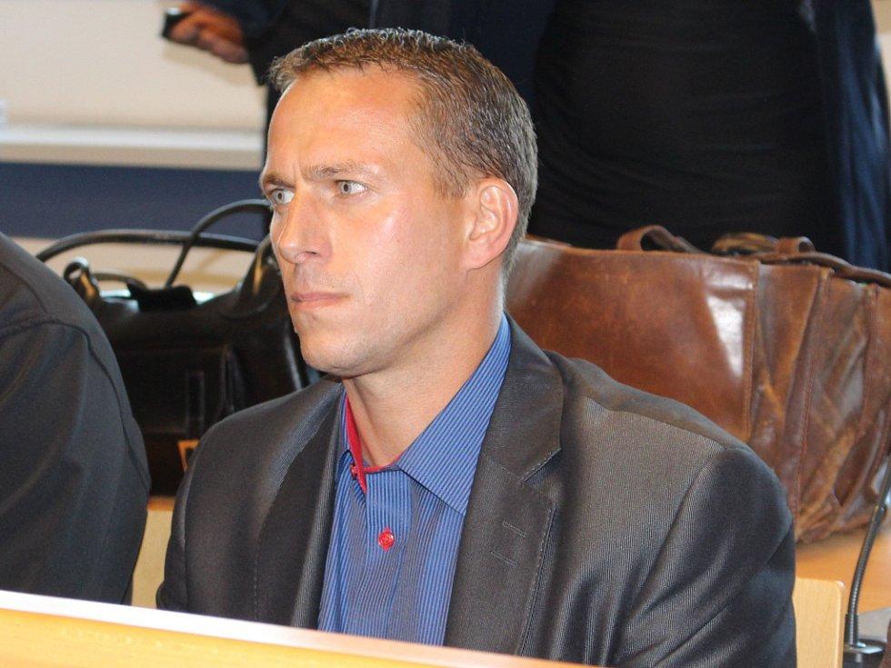 Martin Svoboda u krajského soudu ve Zlíně.