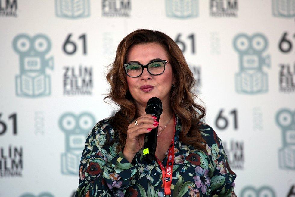 61. Zlín Film Festival 2021. Odhalení hvězd dětským filmovým hercům společně s Nadačním fondem Kapka naděje.