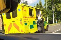 Ve Zlíně se srazil trolejbus s osobním vozidlem. 27.6.2019