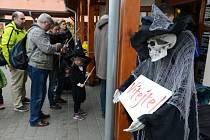 Zaměstnanci Zoo Zlín připravili na halloweenský víkend speciální program.