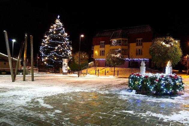 Vánoční strom Bojkovice