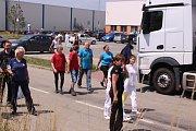 Evakuace všech zaměstnanců a zákazníků v malenovickém Centru ve Zlíně.
